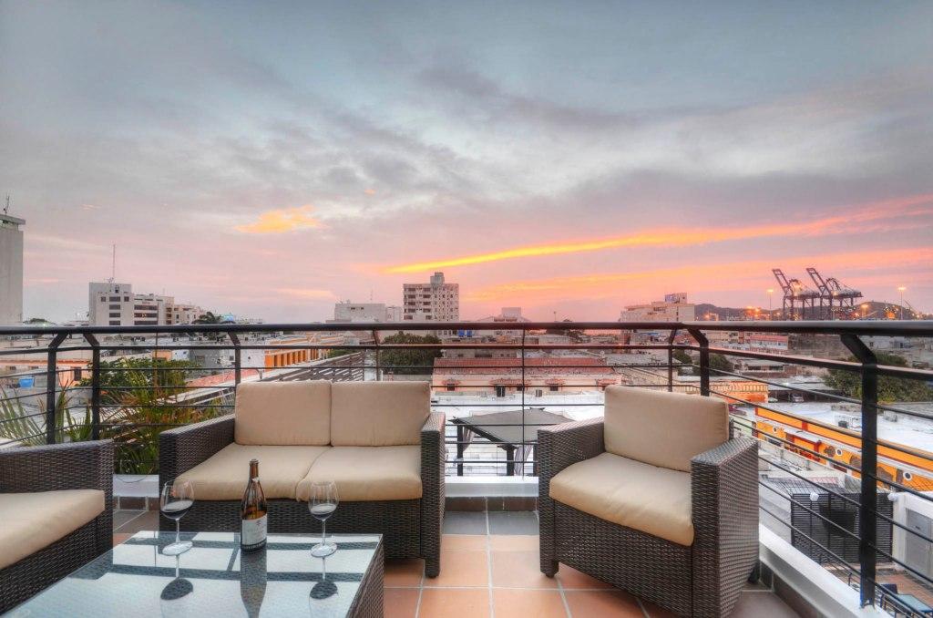 Sunset Wine View