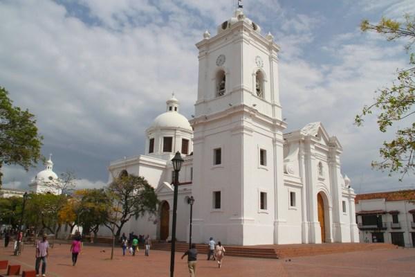 Santa Marta Cathedral near Hotel Casa Carolina