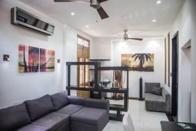 Suite 203, separate lounge area