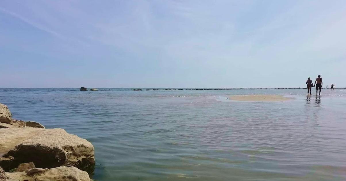 Il mare di Torrette di Fano