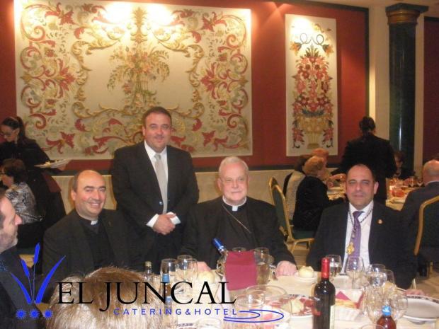 Comida Hdad. Gran Poder y Cardenal Carlos Amigo
