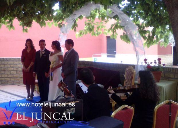 boda civil Aurelia y Antonio