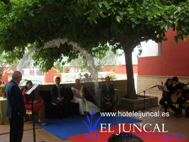boda civil Aurelia y Antonio