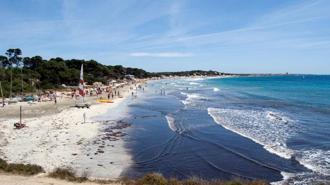 Playa De Las Salinas Ibiza English