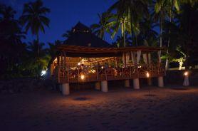 Panoramic night view