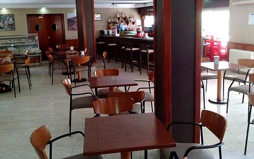 Detalle de la cafetería