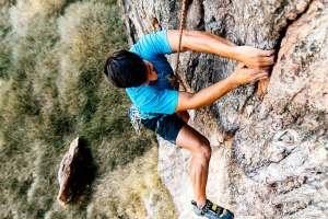 Escalar en la Sierra de Albacete