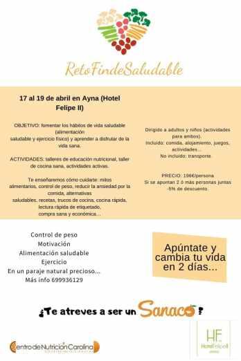 campamento Hotel Felipe II, Ayna, Albacete