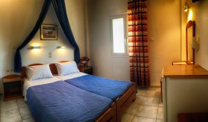 Double room mountain view - Helena Hotel Ios Cyclades Greece