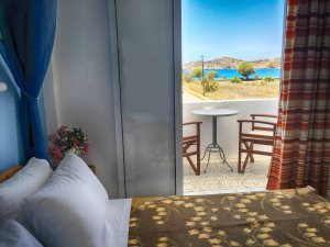 Double room with sea view - Helena Hotel, Ios Cyclades Greece