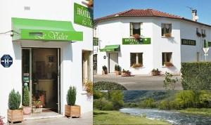 Hôtel Le Valier, Ariège - Vue de la façade extérieure de l'hôtel et activités alentours pour tourisme en Ariège.