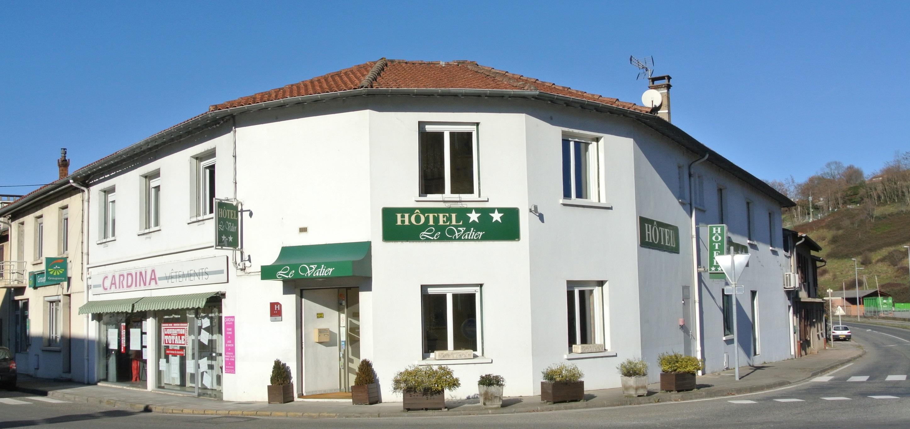 Vue extérieur - Hôtel Le Valier, St Girons, Ariège