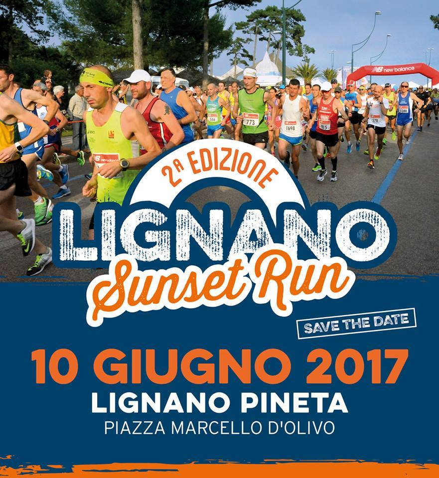 2a edizione Lignano Sunset Run 2017 Sunset Run Half Marathon   Lignano Sabbiadoro