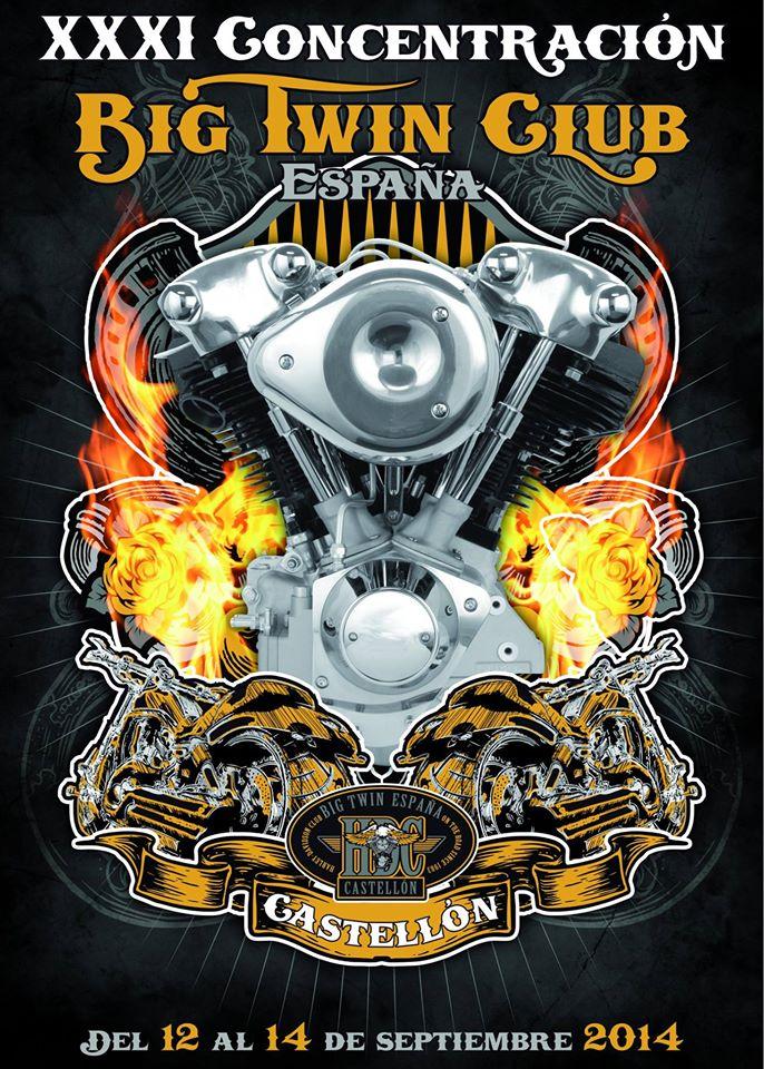 XXXI Concentración Big Twin Harley – Davidson e Indian