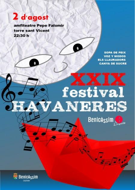 Cartel Festival Habaneras 2014