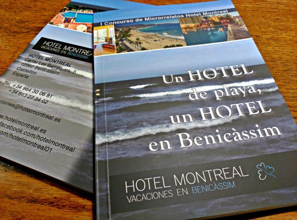 El Libro del I Concurso de Microrrelatos Hotel Montreal