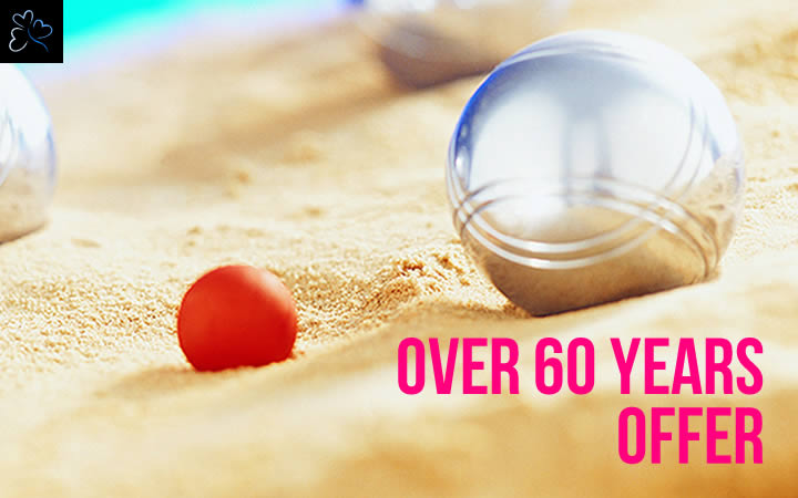 Over 60 Years. 2019 Offer.