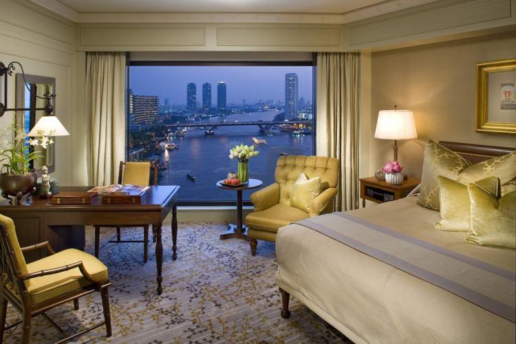 apartamento deluxe room no mandarin oriental bangkok