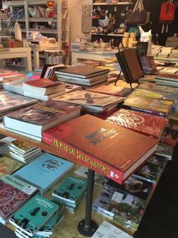Livros na loja Tienda Palacio em Buenos Aires