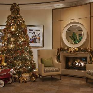 Decoração de Natal do Hotel Bervelly Hills