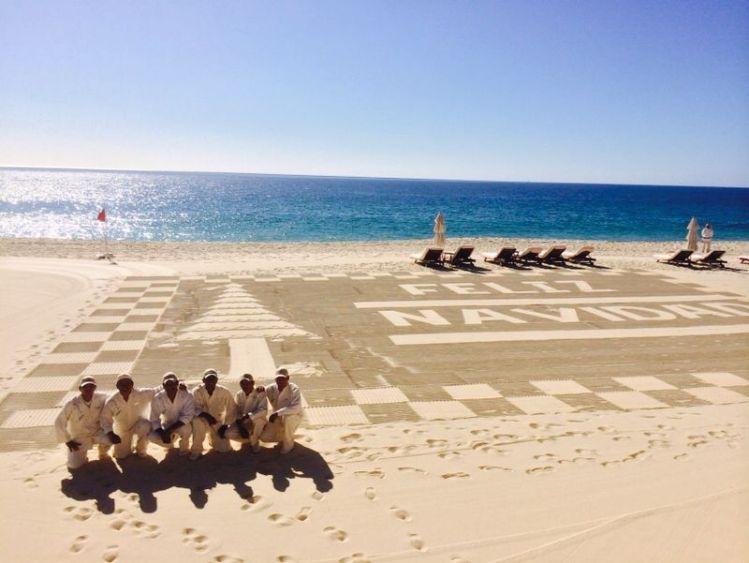 Praia do Las Ventanas al Paraiso para o Natal