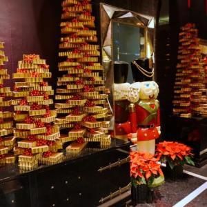 Decoração de Natal do Mandarin Oriental Las Vegas