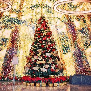 Decoração de Natal do Mandarin Oriental Pudong