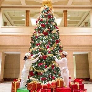 Decoração de Natal do The Pensinsula New York
