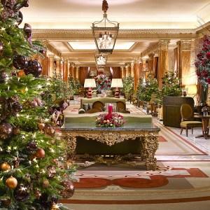 Decoração de Natal do The Dorchester