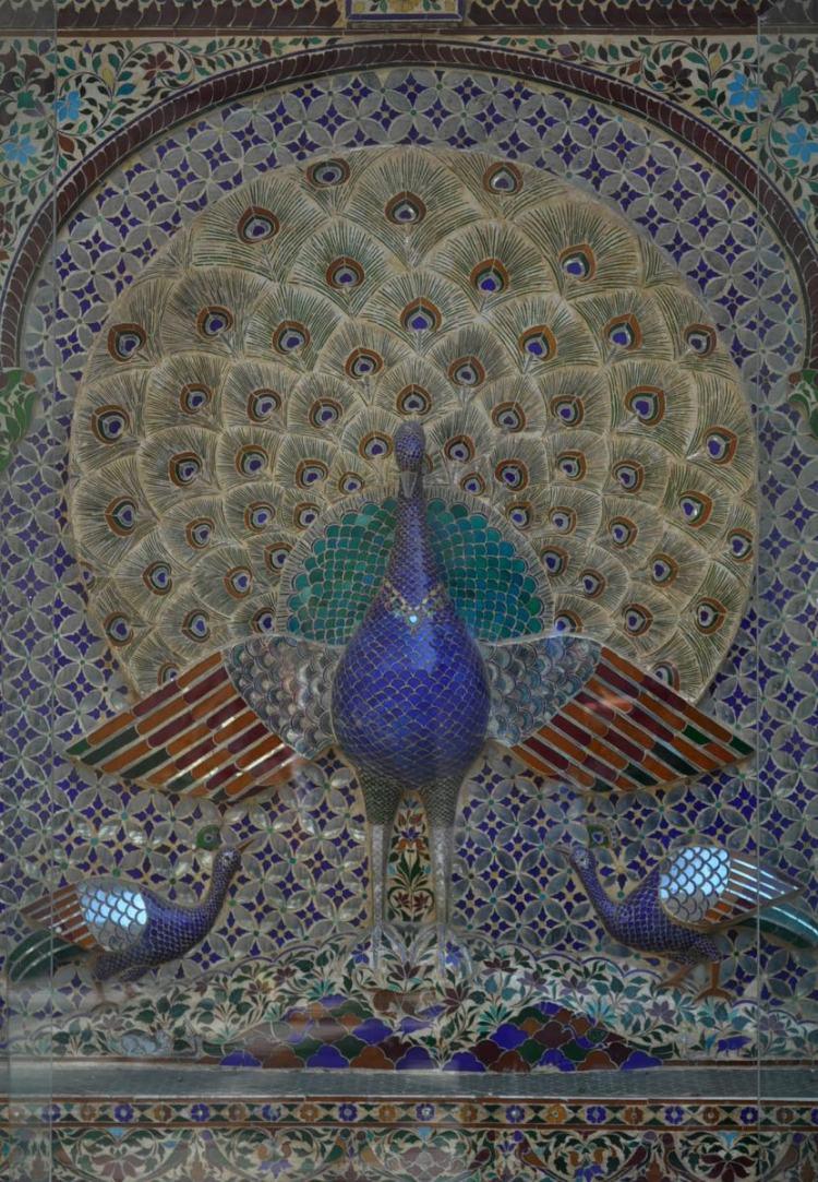 Mosaico no City Palace