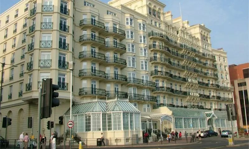 Brighton's Grand Hotel EVACUATED over bomb threat as police swoop