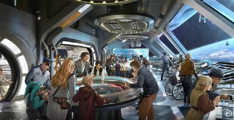 Disney's Star Wars Resort Reveals First Look Photos