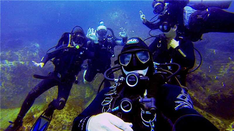 Mergulho e Ilhabela com Cesar Dive Team