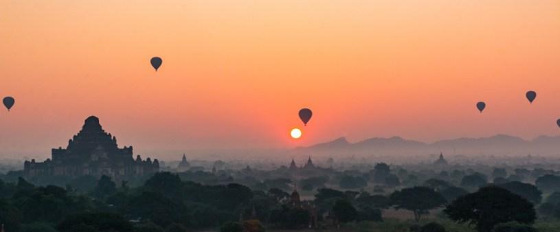 Sunrise Over Bagan. (Photo by Lauren Mowery)