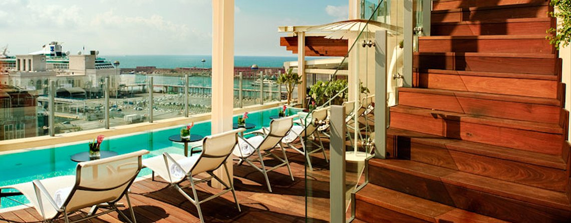 Romeo hotel design Napoli - piscina