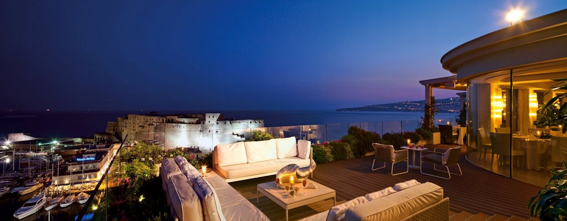Grand Hotel Vesuvio Napoli - Roof garden con ristorante panoramico