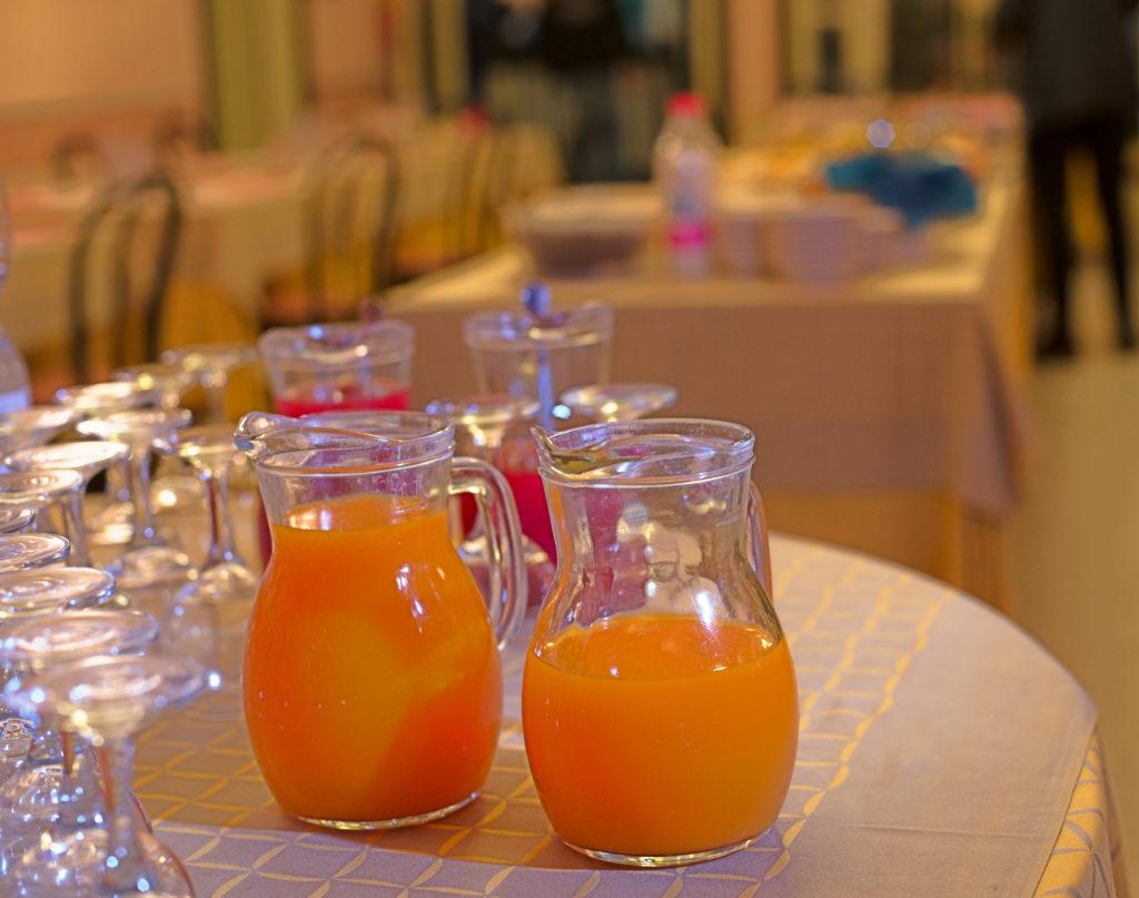 La Colazione all'Hotel Salus Parma S. Andrea Bagni