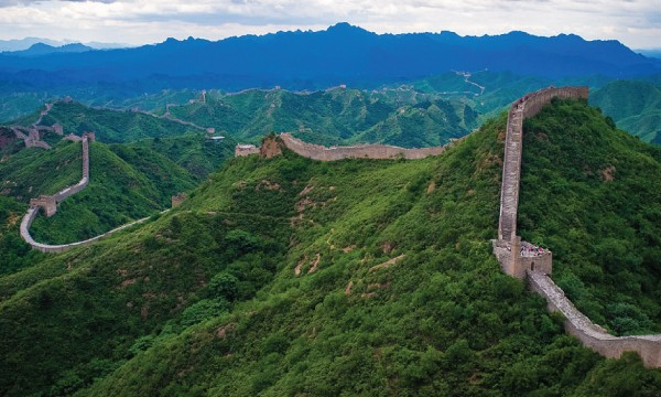 Ibn Battuta provides the earliest description of the Great Wall of China with regards to Islamic geography. — Pic and info courtesy of Wikipedia