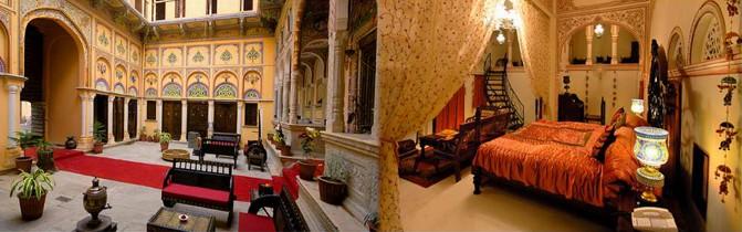Hotel Grand Haveli Nawalgarh Rajasthan India Nawalgarh