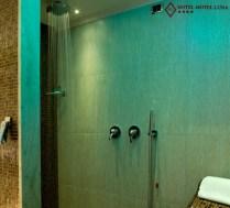 Doccia con Chaise Longue cromoterapia - camera suite - Hotel Motel Aeroporto Linate