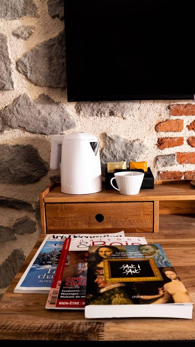 Chambre avec télévision à Aurillac Cantal