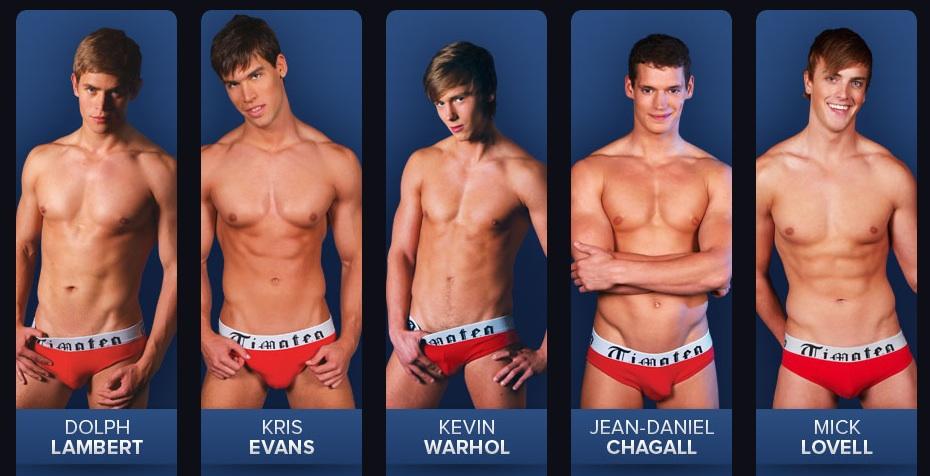Fleshjack Boys – the complete line-up of Fleshjack models