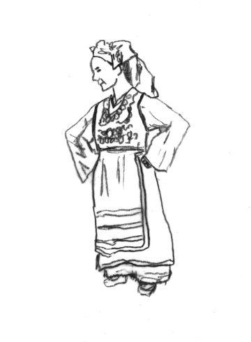 Γυναικεία φορεσιά Μεταξάδων