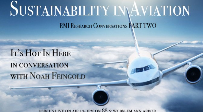 Sustainability in Commercial Aviation: RMI Research Conversation Part Two