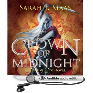 Crown of Midnight audiobook cover