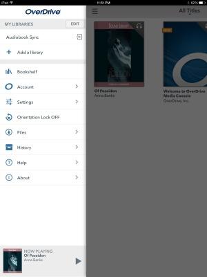 Ipad Overdrive app