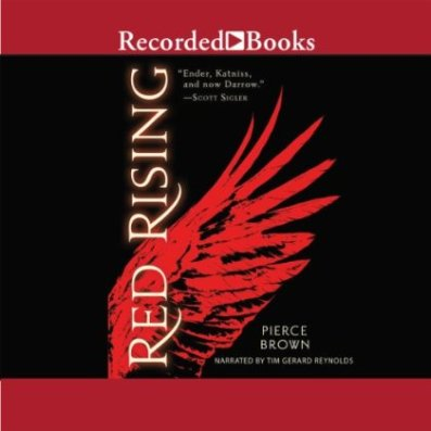 Red Rising Audiobook Cover
