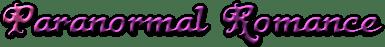 paranormal romance logo