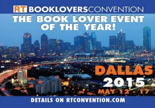 2015 RT Book Lovers Convetion