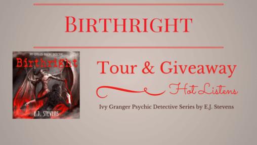 Birthright by E. J. Steven Tour